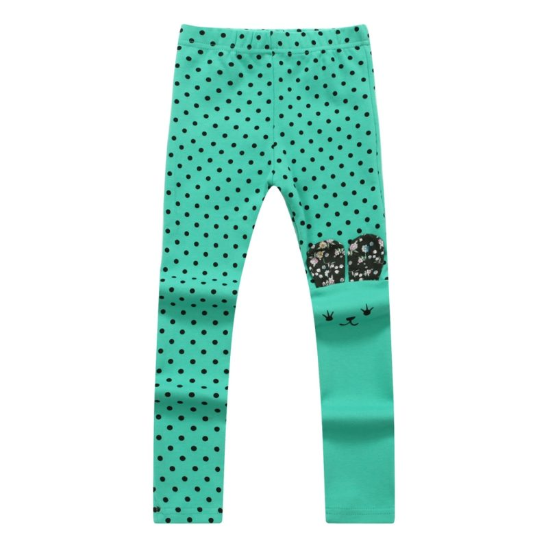 Assymetic Happy Bunny Pants