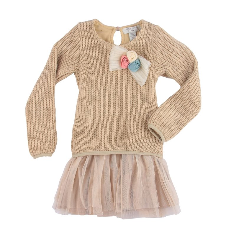 Knit Dress with Knit Top