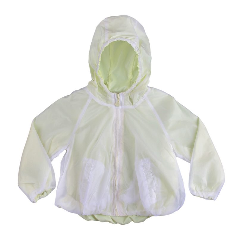 Two-way Translucent Raincoat