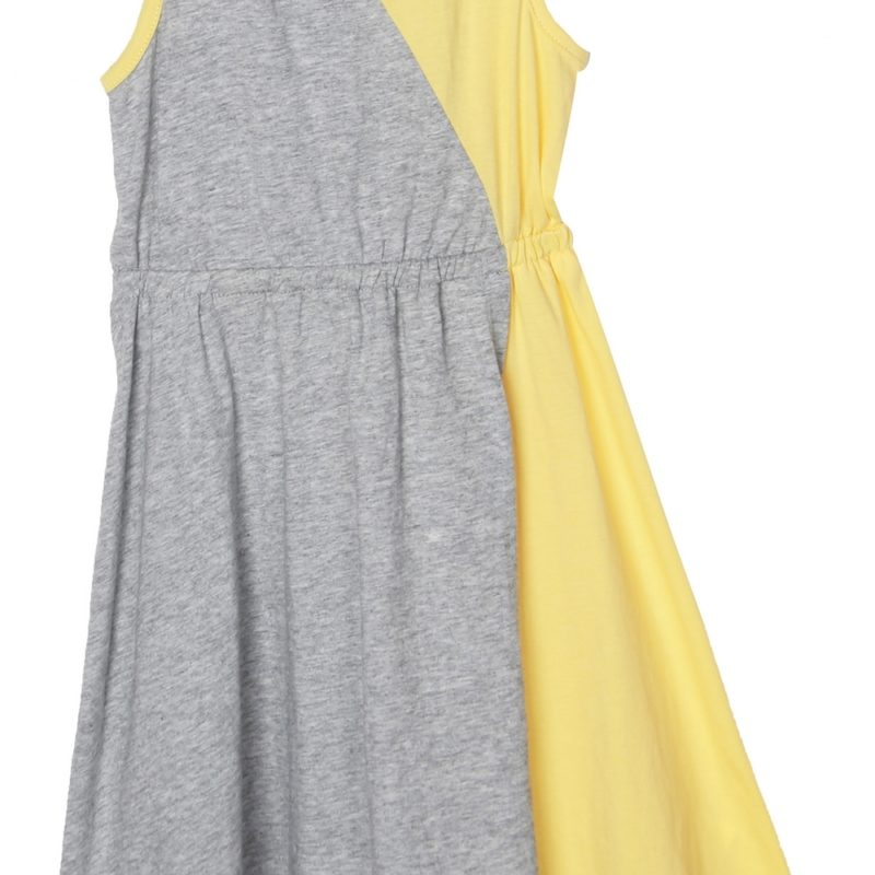 Two-tone Everyday Dress