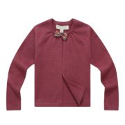 Open Cardigan with Bow