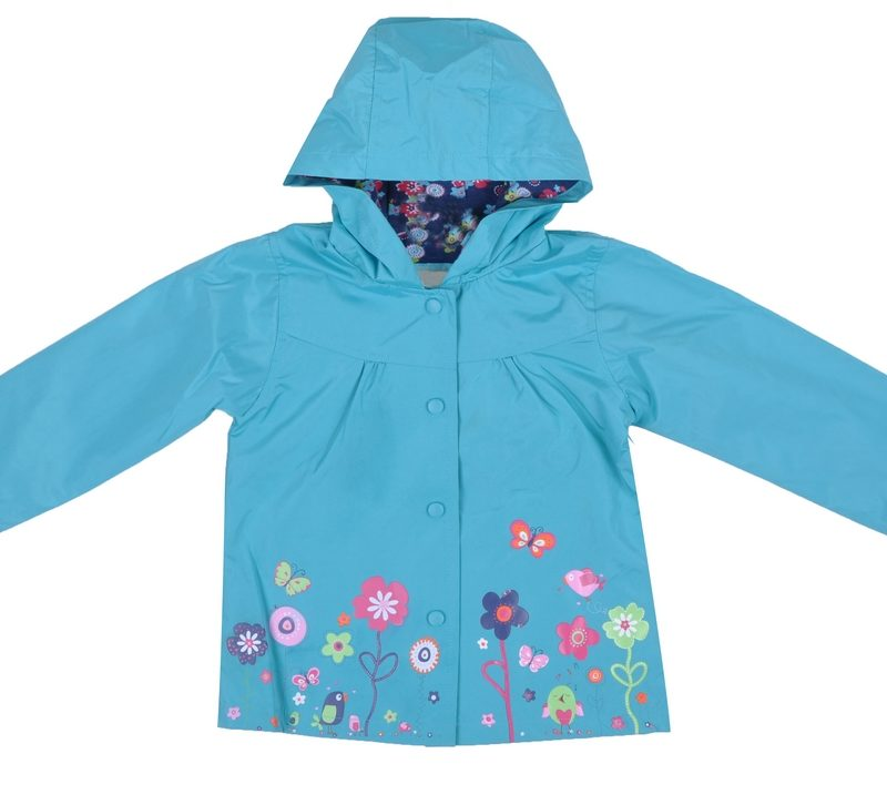 Flowered Raincoat