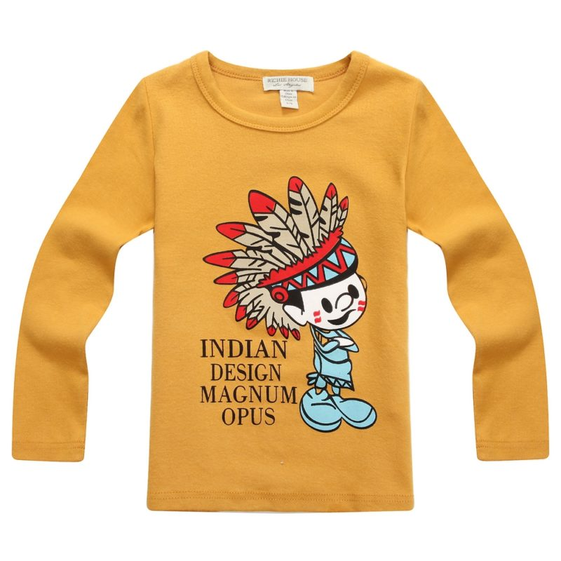 Yellow Indian Design Tee