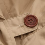 Double-breasted Jacket with Little Stand Collar