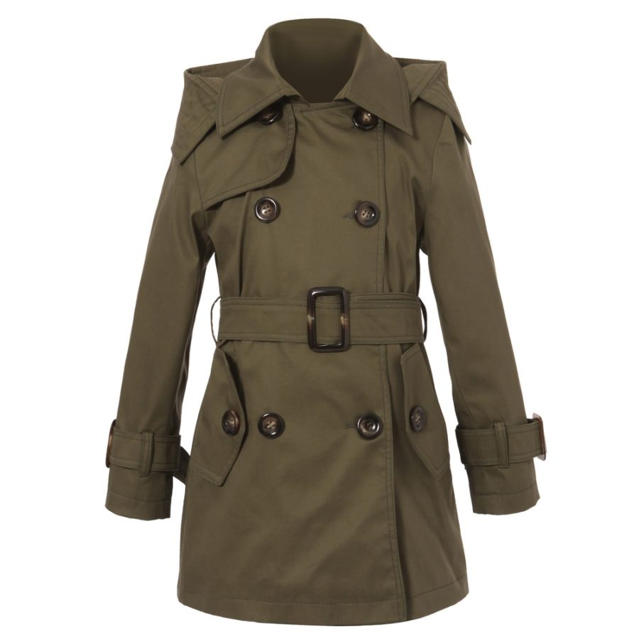 c72bf5d55823 Classic Hooded Trenchcoat