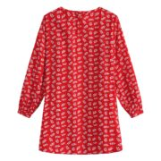All Over Flowers Print Woven Dress