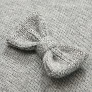 Cardigan with a Small Bow