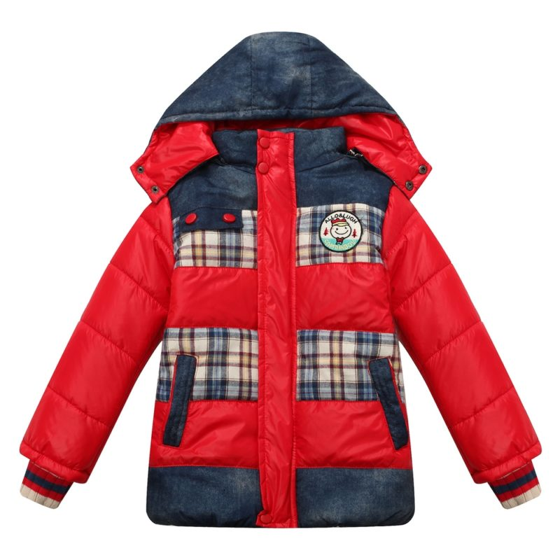 Padding Jacket with Detachable Hood