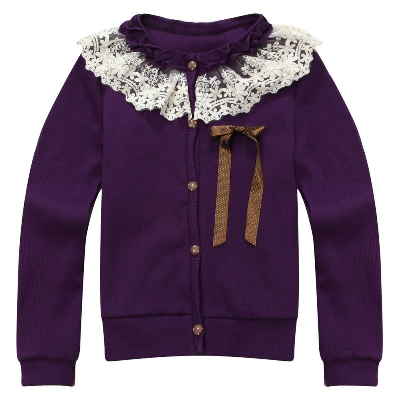 Sweet Cardigan with Lace