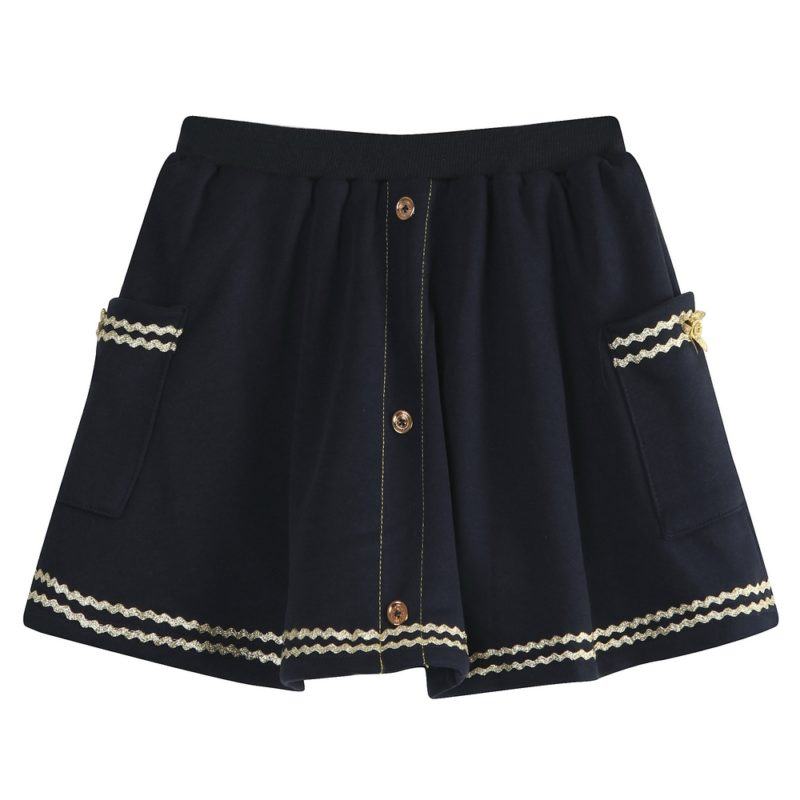 Leisure Skirt Elastic Waistband