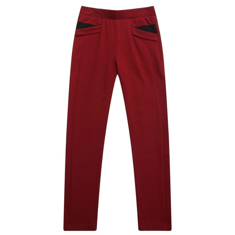 Plain Colored Pencil Pants