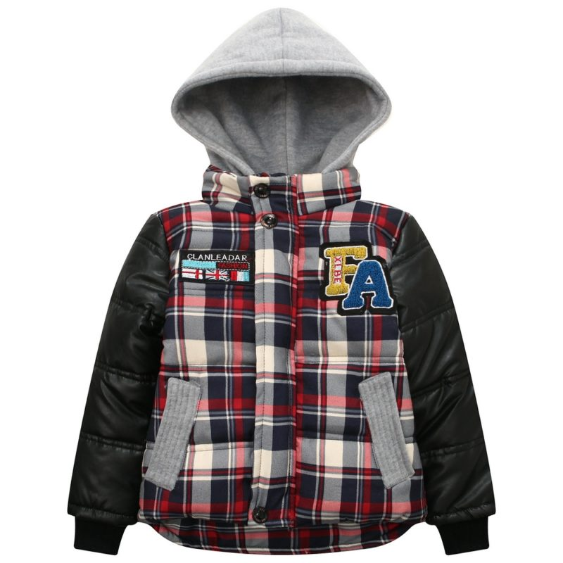Padding Jacket with Attached Hood