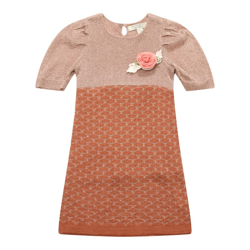 Short Sleeve Dress Sweater