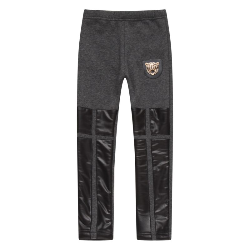 Winter Pants with Artifical Leather