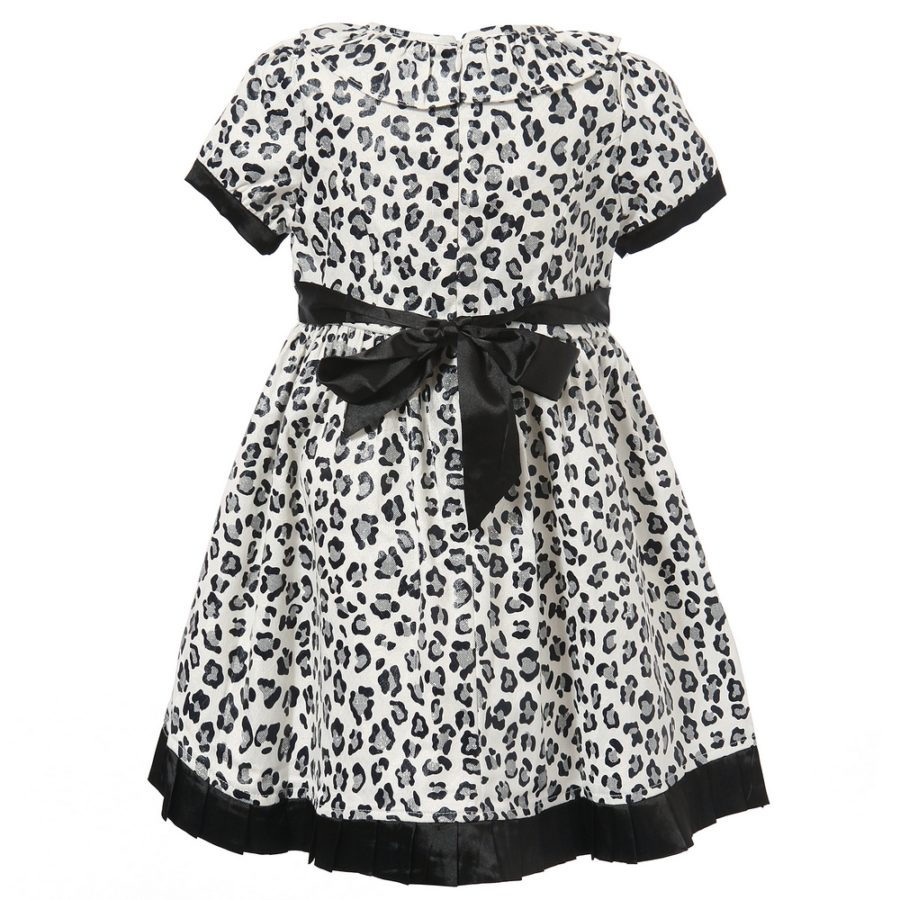Short Sleeve Cheetah Dress