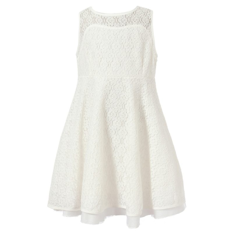 Dress With Outlayer Fashion Lace