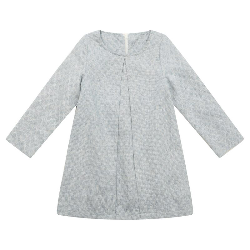 Long Sleeve Spring Solid Dress
