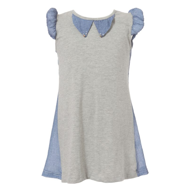 Knit Dress with Special Round Sleeve