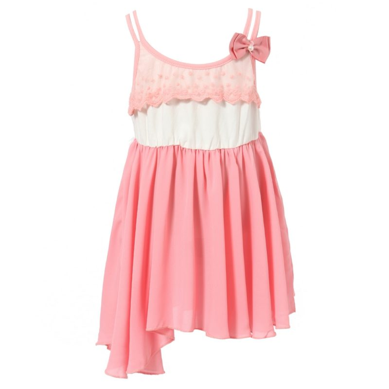 Sweet Slip Dress with Bow