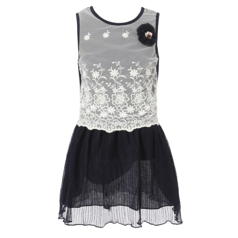 Sweet Summer Sundress with Lace