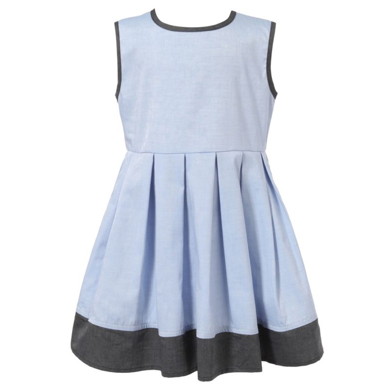 Dress With Regular Pleats