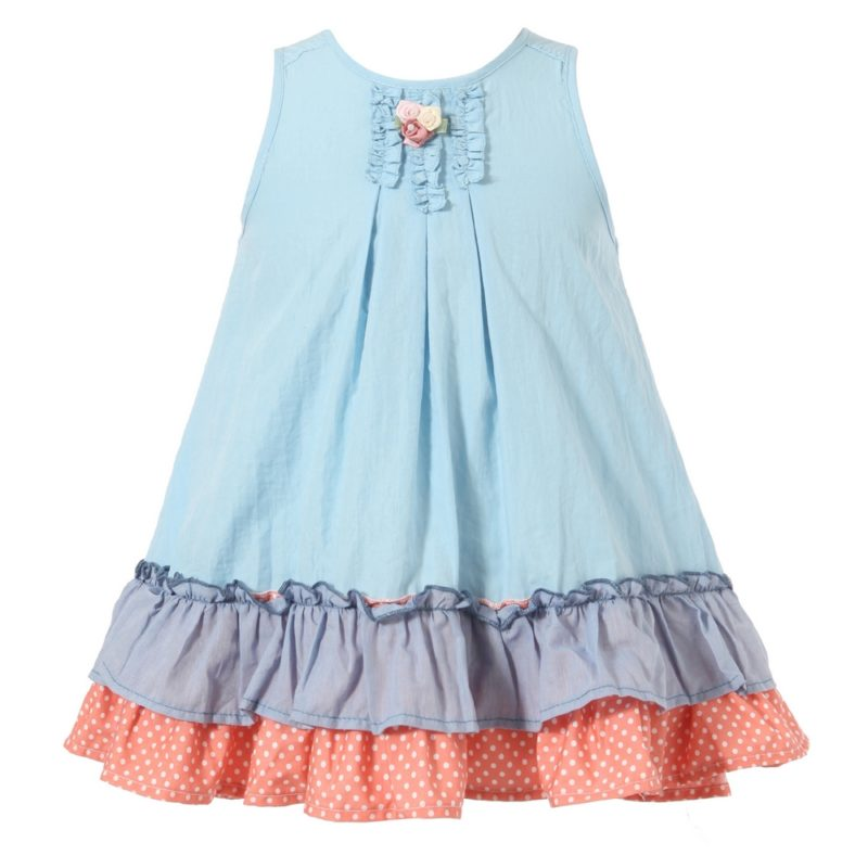 Sweet Sundress with Layered Ruffled Bottoms