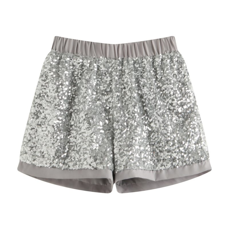 Short Pants with Sequins