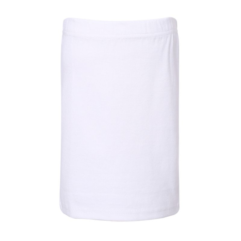 White Medium Knit Skirt