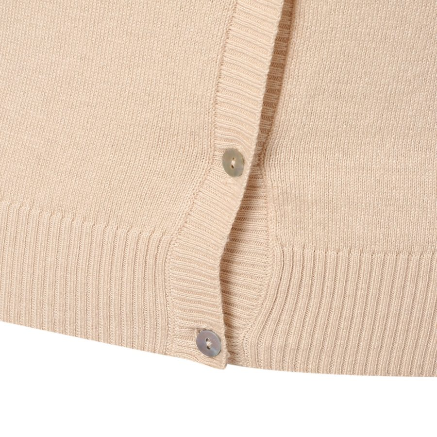 Cardigan Sweater with Head-beading | Richie House