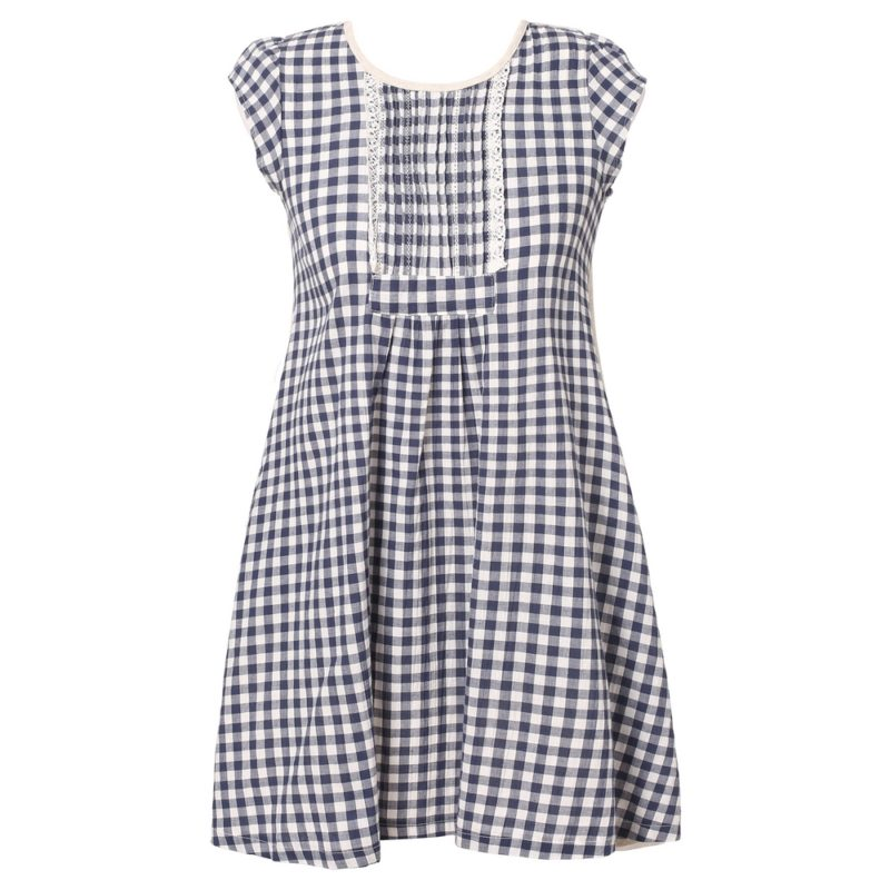 Summer Dress with Pleat Details