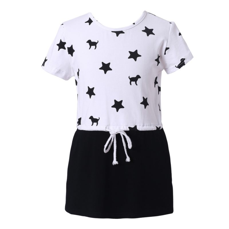 Leisure Knit Dress with Stars