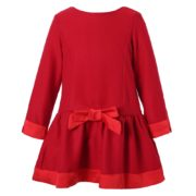 Red Dress with Fleece