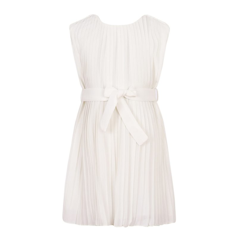 Summer Chiffon Pleated Dress