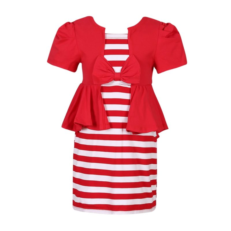 Summer Knit Striped Dress
