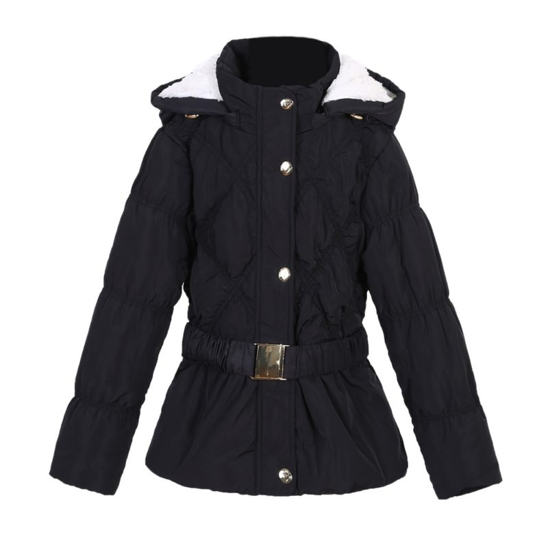 Winter Padding Jacket with Belt