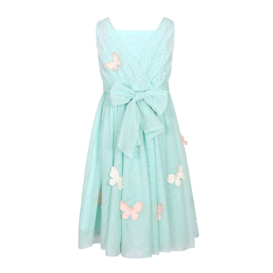 Party Mesh Dress With Butterflies | Richie House