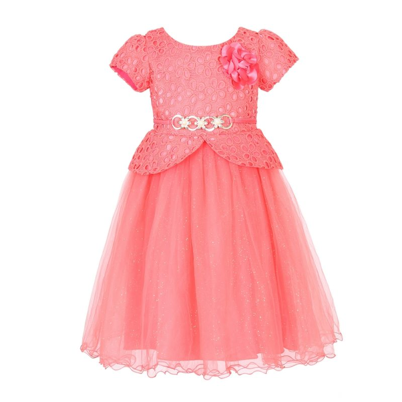 Princess Party Dress with Belt