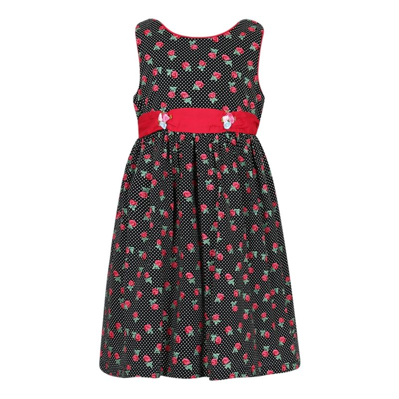 Cotton Rose Dress
