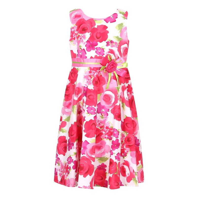 Flower Princess Cotton Sundress