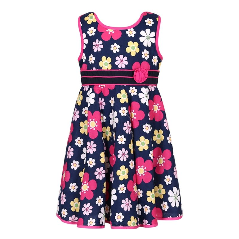 Cotton Flower Summer SunDress