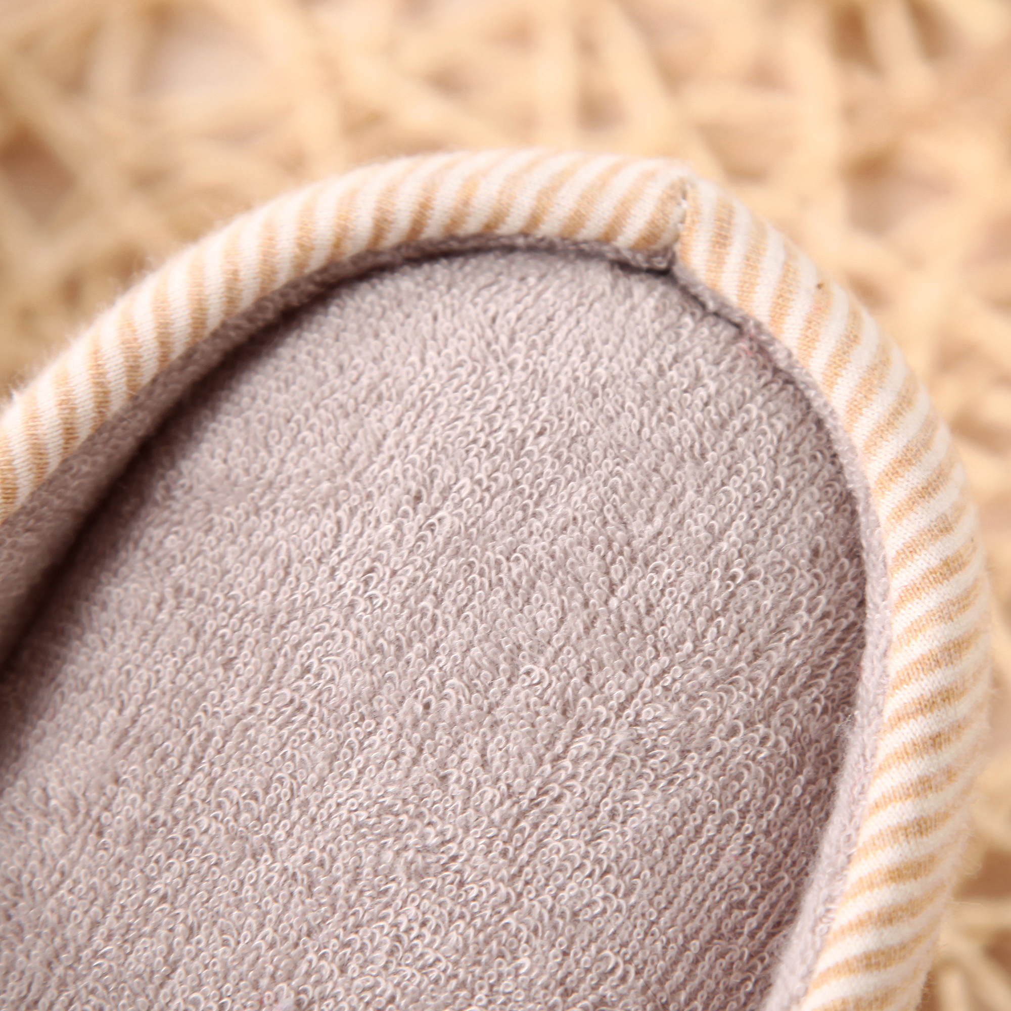 Striped Slippers with Soft Lining