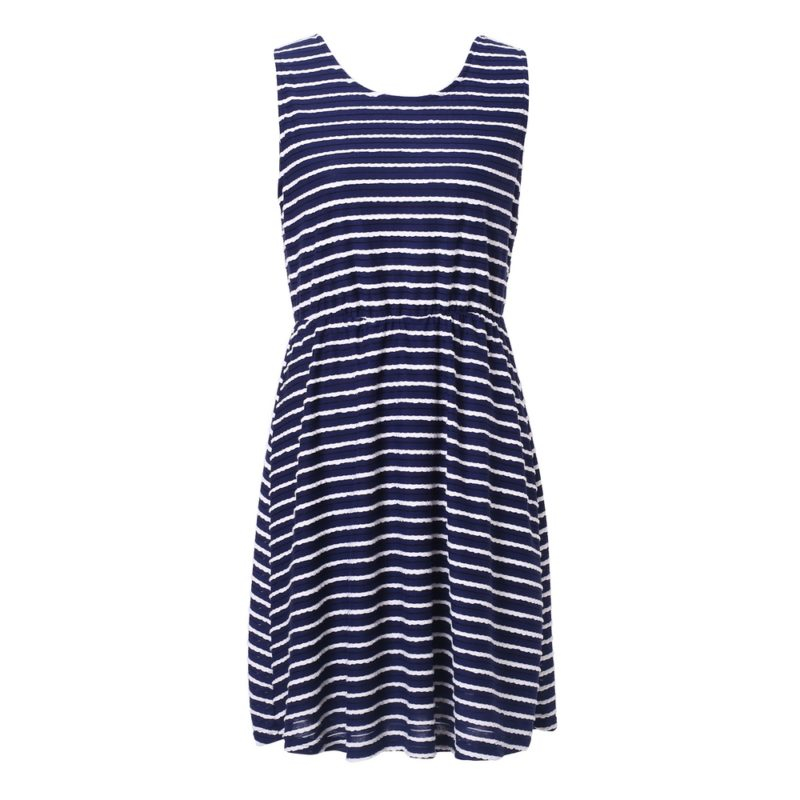 Medium Striped Knit Dress