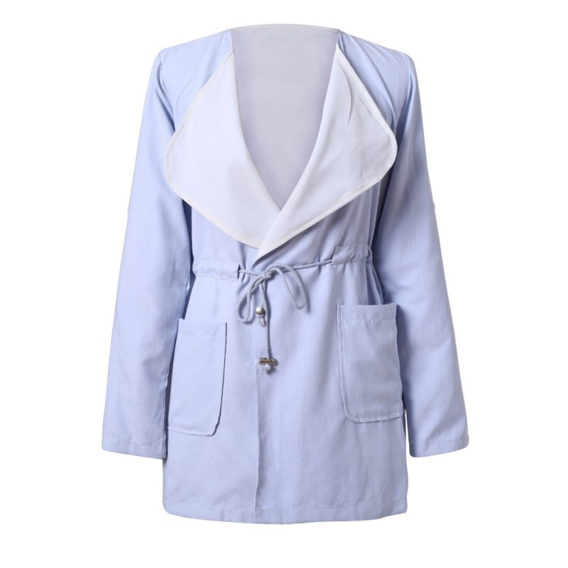 Leisure cardigan coat