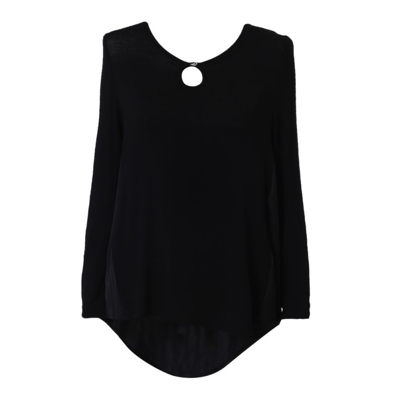 Solid Blouse Uni Size for S