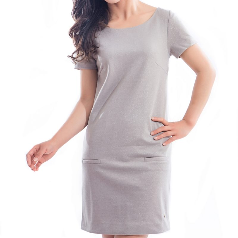 Elegant Short Sleeve Dress