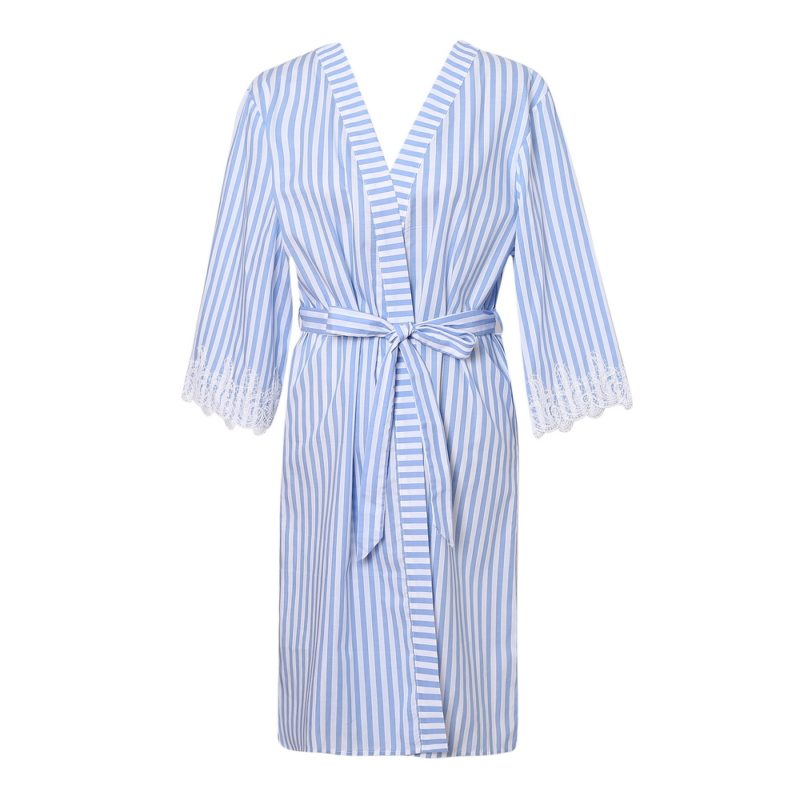 Summer Striped Hiyoku Pajama Sleepwear