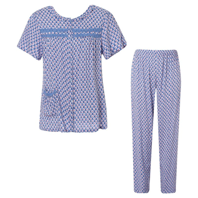 Summer Two-piece Pajama Sleepwear