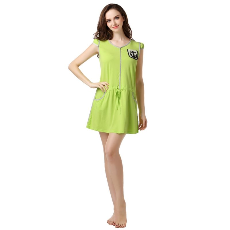 Knit Dress Pajama Sleepwear