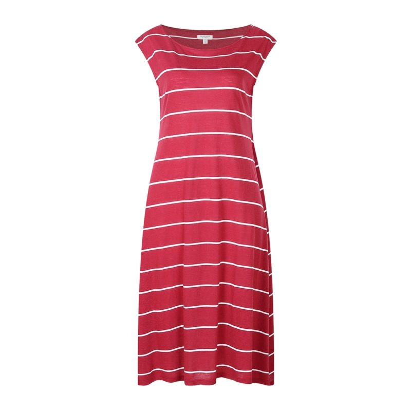 Medium Style Striped Knit Dress